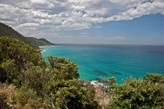Australien stor havväg Arkivbilder