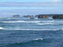 Australien stor havväg Arkivbild