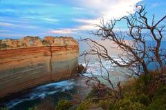 Australien stor melbourne havväg Arkivbild