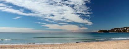 Australien strand manly sydney Arkivfoto