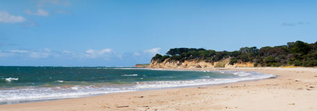 Australien strand torquay Arkivbilder
