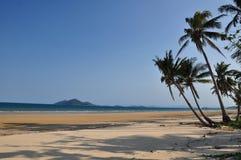 Australien strandbeskickning Arkivbilder