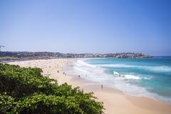 Australien strandbondi Royaltyfri Bild