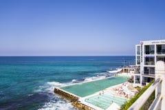 Australien strandbondi Arkivfoton