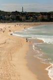 Australien strandbondi sydney Arkivbilder