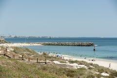 Australien strandcottesloe västra perth Royaltyfri Bild