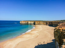 Australien strandklockor royaltyfria bilder