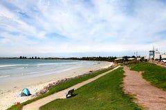 Australien strandsikt Arkivfoton