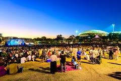 Australien-Tagesfeier in Adelaide lizenzfreie stockbilder
