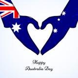 Australien-Tageshintergrund Lizenzfreie Stockfotos
