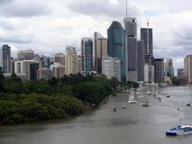 Australien townscape Royaltyfria Bilder