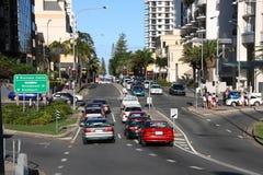 Australien trafik Royaltyfria Foton