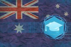 Australien utbildningsbegrepp Royaltyfri Bild