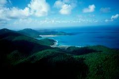 Australien/utmärkt barriärrev: Airshot från kustlinjen och stränder fotografering för bildbyråer