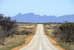 Australien väg Arkivfoto