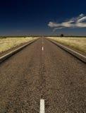 Australien väg Arkivbild