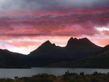 Australien vaggaberg tasmania Royaltyfria Bilder