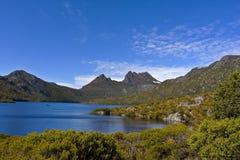 Australien vaggaberg tasmania Royaltyfri Fotografi