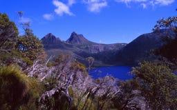 Australien: Vaggabergnationalparken i Tasmanien arkivfoton