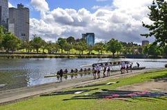 Australien Victoria, Melbourne, vattensport arkivfoton