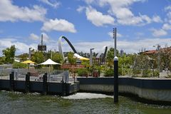 Australien WA, Perth, Elizabeth Island Fotografering för Bildbyråer