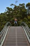 Australien WA, Perth, g?r till kung parkerar arkivfoto