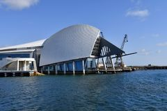 Australien WA, Perth, maritimt museum arkivfoton
