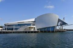 Australien WA, Perth, maritimt museum arkivbild