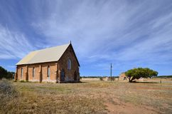 Australien, West-Australien, alte gotische Kirche Stockbilder