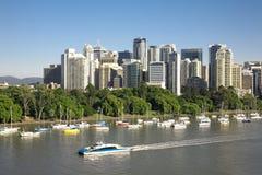 Australiens Brisbane-Stadt Stockfoto