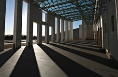 Australiens das Parlament bringen - Canberra unter Stockfotos