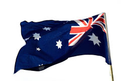 australiensisk flagga Royaltyfri Foto