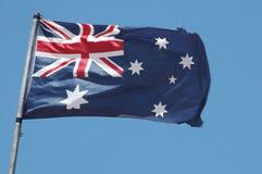 australiensisk flagga Royaltyfria Bilder