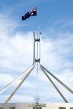 australiensisk flagga Royaltyfria Foton