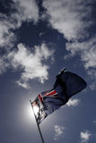 australiensisk flagga Arkivfoton