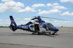 australiensisk helikopterpolis Arkivbild