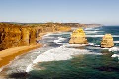 Australiensisk kust royaltyfria bilder
