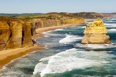 Australiensisk kustlinje royaltyfri foto