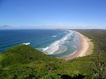 australiensisk strand Arkivbild