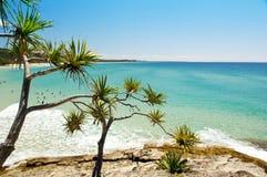 australiensisk strand Arkivfoto