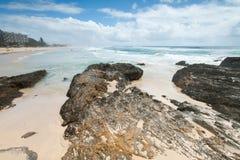 australiensisk stranddag Royaltyfri Foto