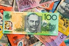 australiensisk valuta fotografering för bildbyråer