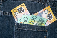 australiensisk valuta Royaltyfri Fotografi