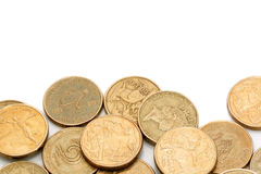 australiensiska mynt Arkivfoto