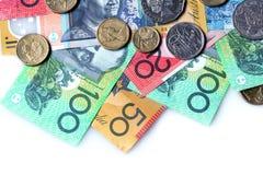 australiensiska pengar Fotografering för Bildbyråer