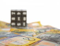 Australiensiska pengar royaltyfri foto