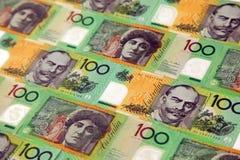 australiensiska pengar Arkivbild