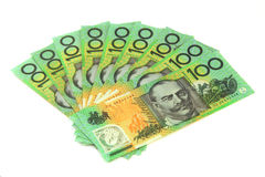 australiensiska pengar Arkivbilder