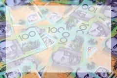 australiensiska pengar Royaltyfria Foton