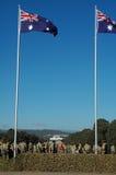 australiensiska soldater Arkivbild